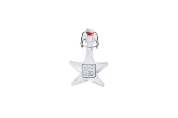 mini star shaped bottle