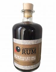 bottle of Cannonball Rum