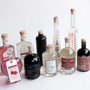 10 bottles of Wessex Spirits products