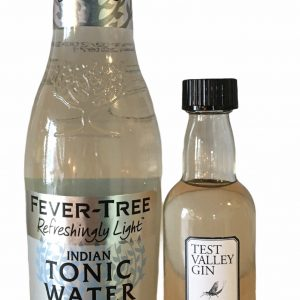 50ml Test Valley Gin and tonic
